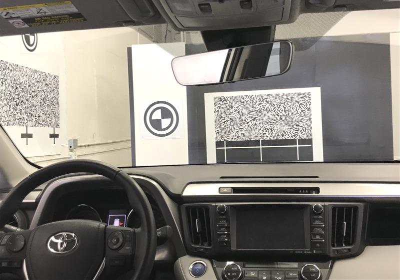 Dynamic Windshield Calibration
