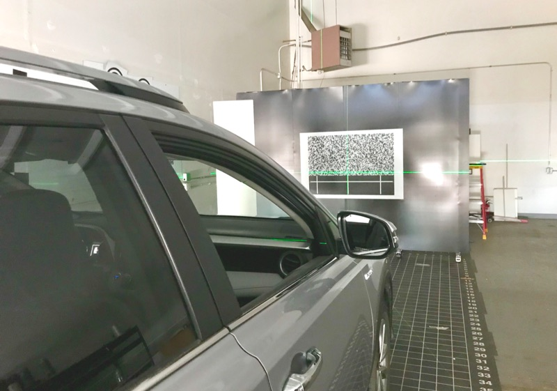 Static Windshield calibration